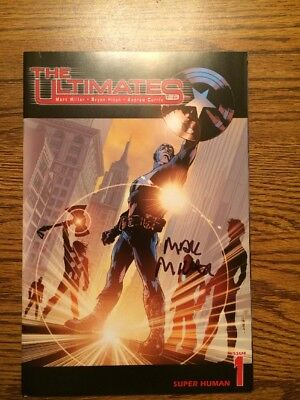 The Ultimates 1 NM First Print 2002 Mark Millar Autograph Marvel Avengers Nice!
