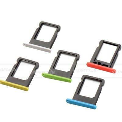 For Apple iPhone 5C Replacement Nano SIM Card Tray Slot Holder Repair Part