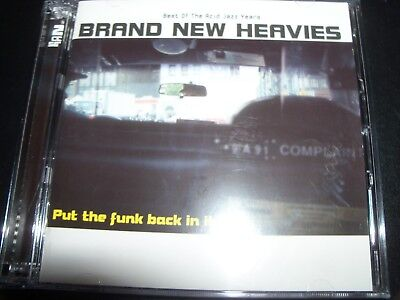 Brand New Heavies – Put The Funk Back In It - Best Of The Acid Jazz Years CD –