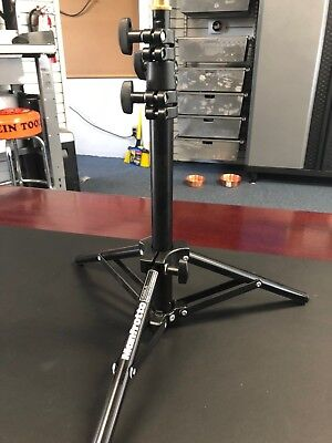 "Manfrotto 4' Mini Lightstand with 5/8"" Mounting Stud #156BLB"