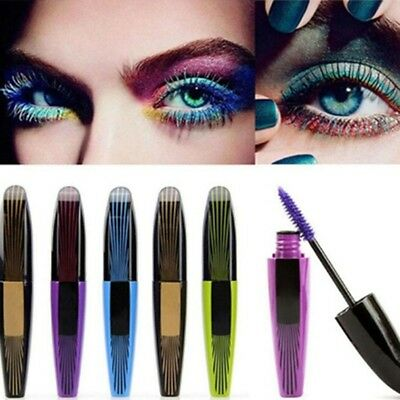 New Makeup Cosmetic Extension Length Long Curling Eye Lashes Colorful Mascara
