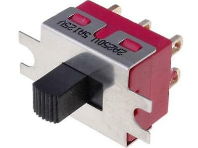 IC2105S1M1QE2 Switch slide 2-position DPDT 2A/250VAC ON-ON -30÷85°C