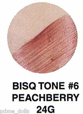 Seeleys china paint 24G Bisque Tone #6 Peachberry