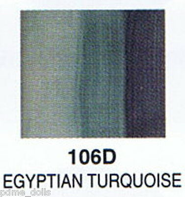 Seeleys china paint 106D Egyptian Turquoise