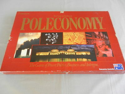 POLECONOMY Vintage Board Game The Power Game John Sands