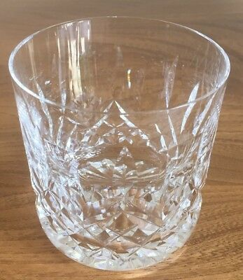 Waterford Lismore Crystal Old Fashioned Tumbler Up To 5 Available