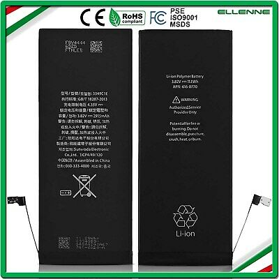 BATTERIA ORIGINALE APPLE IPHONE 6 PLUS 2915 mAh ZERO CICLI  NUOVA RICAMBIO