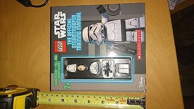Star Wars Lego The Official Stormtrooper Training Manual Snowtrooper Minifigure