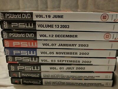 PSWorld DVDs and Demo Discs