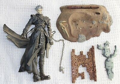 Trigun Vash The Stampede Action Figure Exclusive Repaint Gray McFarlane Toys EB