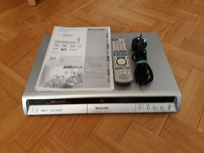panasonic dmr ex75 dvd recorder 160gb hdd freeview remote and manual rh picclick co uk Panasonic Professional DVD Recorder Panasonic DMR DVD Recorder Remote