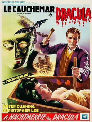 CHRISTOPHER LEE - Horror of Dracula (1958) - 8 1/2 X 11