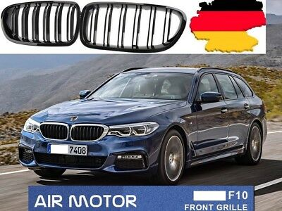 sport grill k hlergrill set f r bmw 5er f10 f11 schwarz. Black Bedroom Furniture Sets. Home Design Ideas