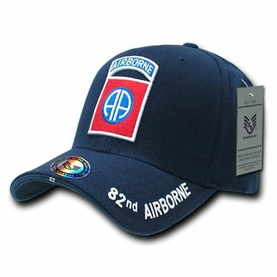 af5f786a829 82nd Airborne All The Way US Army Military hat OFFICIALLY LICENSED Baseball  Cap