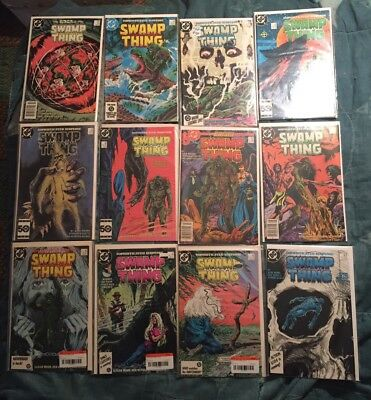 Swamp Thing 19 Issue Lot Iconic Alan Moore Run Tv Show Coming [DC, 1984-]
