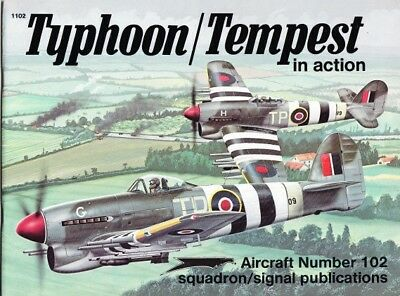 Squadron Signal Aircraft 102 Typhoon / Tempest in action (2. Weltkrieg Luftwaffe
