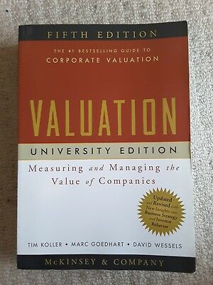 valuation measuring and managing the value of companies 5th edition