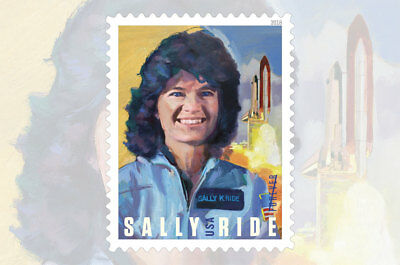 2018 50c Sally Ride, First Woman Astronaut in Space Scott 5283 Mint F/VF NH