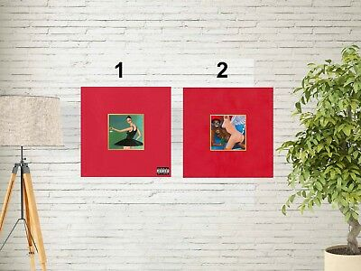 """Kanye West My Beautiful Dark Twisted Fantasy Album Cover Poster 12x12""""-32x32"""""""