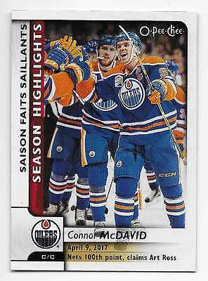 17/18 O-PEE-CHEE HIGHLIGHTS/TEAM CHECKLISTS/LEADERS (#551-600) U-Pick From List