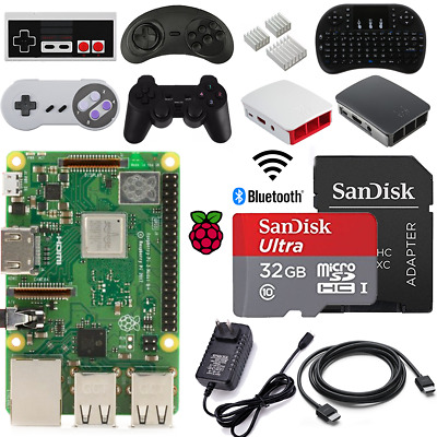 2018 Raspberry Pi 3 Model B+ (B Plus) DIY - Starter, Complete Kit - Steady Gamer