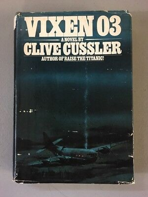 Vixen 03 By Clive Cussler 1st Edition 1st Printing Hardcover Book Dirk Pitt 1978