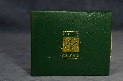 LADY CLARE 4 SCREENED BOTTLE with f/line COASTERS NEW IN BOX
