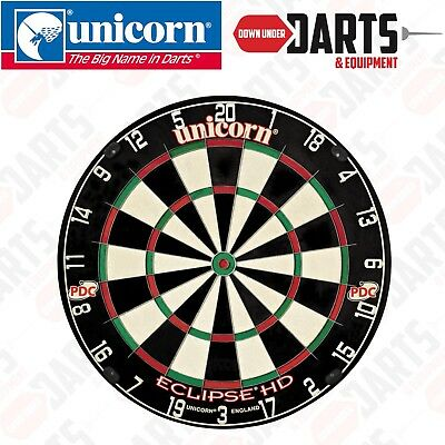 Unicorn Eclipse HD TV PDC Approved Dart Board Highest Quality - 79450
