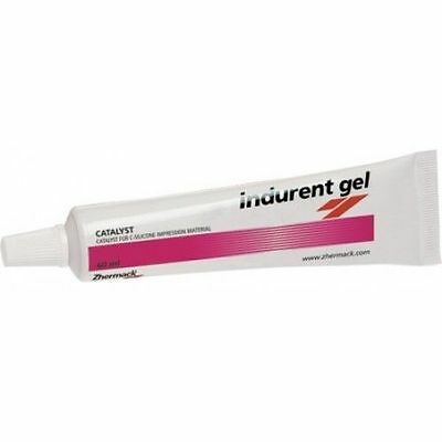 Dental Zhermack Indurent Gel Catalyst C-Silicone Impression Material 60ml