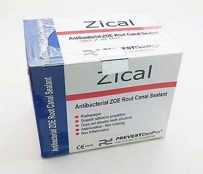 Dental Zical Permanent Root Canal Sealing Filling Kills Bacteria Powder Liquid
