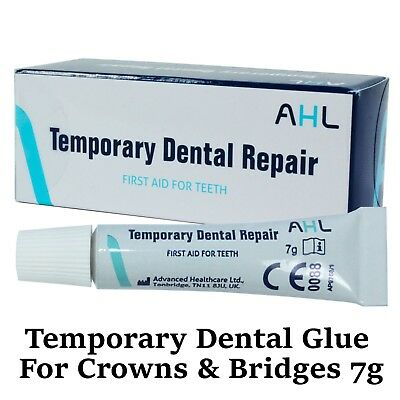Over The Counter Temporary Dental Glue Cement for Crowns Bridges -DIY Emergency