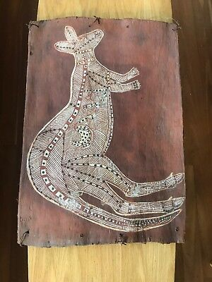 Original Aboriginal Bark Painting