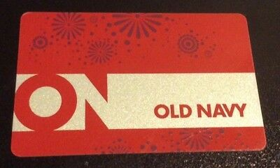 $25 VALUE Gift Card OLD NAVY x1 ONE @ $0.99 FREE Ship Amount Confirmed No Expire