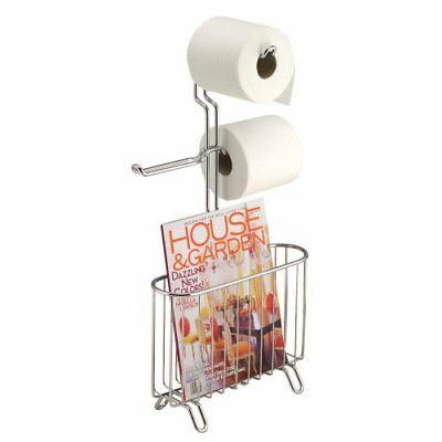 Interdesign Classico Free Standing 3 Roll Toilet Paper Holder And