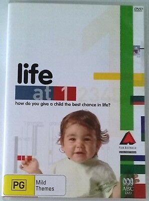 LIFE AT 1 Year Old -How give child the best chance in life? ABC DVD Region 4 PAL