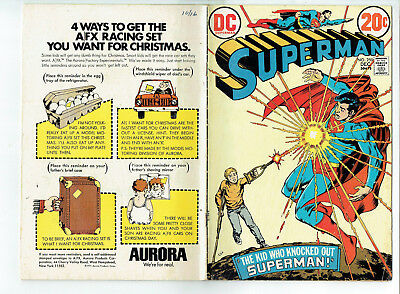 Superman 266 (DC 1972) The kid who knocked out Superman, Terra-Man