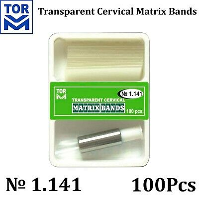 Dental Teeth Crown Transparent Dental Strips Cervical Matrices Matrix TOR VM