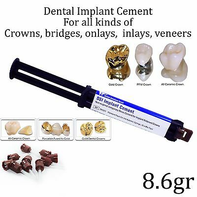 Dental Implant Cement Crown & Bridge Veneers Onlays Inlays Automix Self Adhesive
