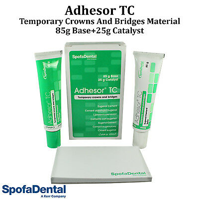 Dental Adhesor TC SpofaDental Temporary Crown Bridge Cement 110g Pack