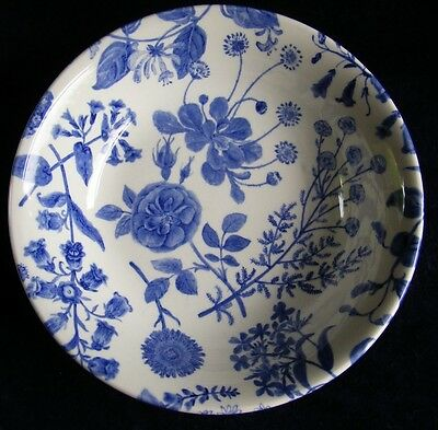 "Royal Stafford Hedgerow Earthenware c7"" Bowls Blue and White - See Photos"