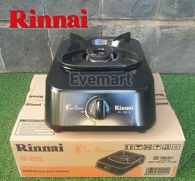 RINNAI BRAND NEW Kitchen Outdoor Indoor Camping Portable Single Burner Gas Stove