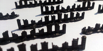 15 (and a 1/3) x Epic 40k Ruined Imperial Walls