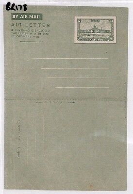 BR178 PAKISTAN Unused Postal Stationery Air Letter Airmail Cover