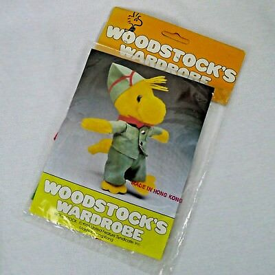 Woodstock's Wardrobe Outfit For Plush Toy Peanuts Scout Troop Packaged Hong Kong