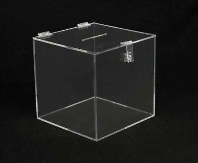 Large Lead Acrylic Box, Ballot Box Clear , Donation Box19""