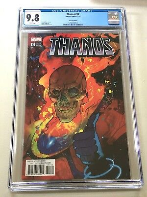 Thanos #17 Cgc 9.8 (Nm/m) Ward Variant Cover - Featuring Cosmic Ghost Rider!