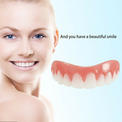 Natural Comfortable Veneers by Perfect Smile Silicone Flexible Teeth Tooth