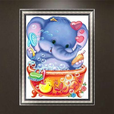 "Diamond Painting - Diamant Malerei - Stickerei - ""Elefant"" (579/1)"