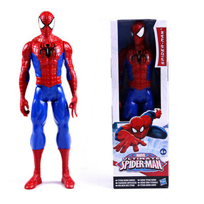Kinder The Avengers Superheld Spider-Man Action Figur Weihnachten Spielzeug 30cm