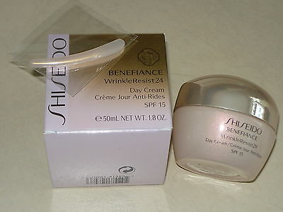 Shiseido Benefiance WrinkleResist24 Day Cream 50 ml - Neu